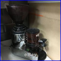 2 Group Espresso Coffee Machine + Bean Grinder + Brita Filter + Handles
