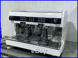 2 Group Automatic Commercial Coffee Espresso Machine Single Phase Tall Cup