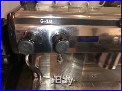 2 Group Automatic Espresso Cappuccino Coffee Machine. Tall Cup Expobar G10