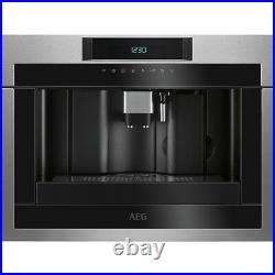 AEG Mastery KKE884500M Built In Bean to Cup Coffee Machine Stainless Steel