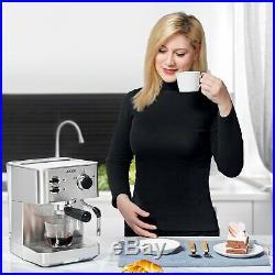 AICOK Espresso Machine, Cappuccino Maker, Latte Coffee Maker, Moka Maker, Espr