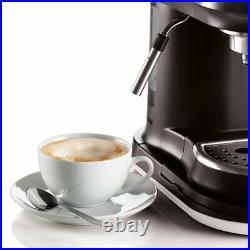 Ariete 1318W Moderna Espresso Machine, Barista Style Coffee Maker White