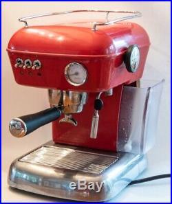 Ascaso Dream Red Espresso Coffee Machine Used