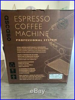 Ascaso dream MF Professional. Espresso Coffee Machine Brand New Boxed Choc