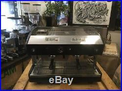 Astoria Espressimo 2 Group Black Grey Espresso Coffee Machine Home Barista Beans