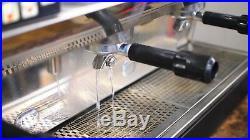 Astoria Lisa 3 Grp Commercial Coffee Espresso Machine Package + Grinder & Filter