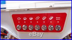 Astoria Vintage SAE3 ex Costa 3grp Vibrant Red & Chrome Coffee Espresso Machine