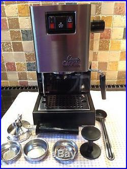 Bargain Gaggia Classic 15 Bar Espresso/cappuccino Coffee Machine/maker