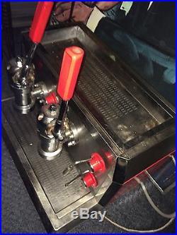 Barrista Italian Gaggia Visa Crem Retro Espresso Machine Industrial Designer