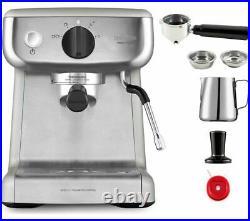 BREVILLE VCF125 Mini Barista Coffee Machine Stainless Steel