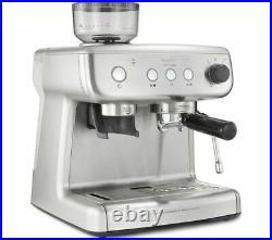 BREVILLE VCF126 Barista Max Espresso Coffee Machine Stainless Steel With Grinder