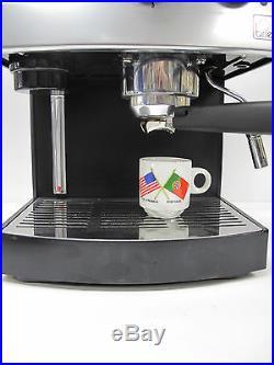 Briel Espresso Cappucino With Steam Coffee Machine Made In Portugal Es62a