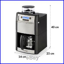 B-Stock Coffee Machine Maker Grinder Bean to cups 10 Filter Timer LCD 1.25 l S