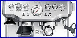 Barista Express Coffee Machine Grinder 1700 Watt Silver Espresso Sage by Heston