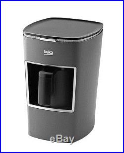 Beko BKK 2300 Automatic Turkish Coffee Machine Espresso Maker New Design gray