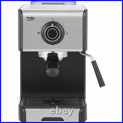 Beko CEP5152B Espresso Coffee Machine 15 bar Black New from AO