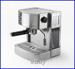 Bella Casa Stainless Steel 2 Cup Espresso Cappuccino Coffee Maker Machine