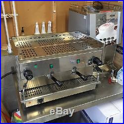 Bezzera coffee machine B2P Semi Automatic 2 Group Espresso With Knock out Draws