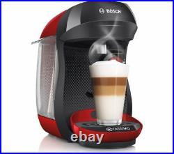 Bosch Tassimo Happy TAS1003GB Coffee Machine Espresso Cappuccino Maker Red Black