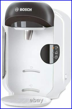 Bosch Tassimo Vivy Coffee / Drinks Pod Machine 1300 W 0.7 L Snow White TAS1254GB