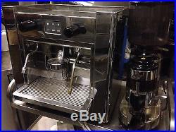 Brasilia 1 Group Automatic Coffee Espresso Machine & Coffee Bean Grinder