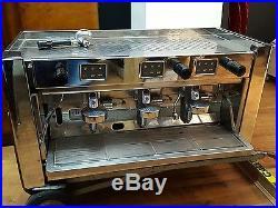 Brasilia Gradisca 3 group Espresso Commercial Coffee Machine