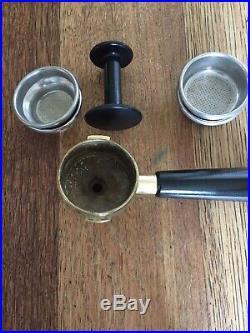 Brass & Copper La Pavoni Europiccola Espresso Cappuccino Coffee Machine GWC
