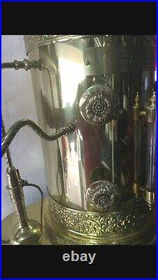 Brass espresso machine Dome Top Cappuccino Coffee Almost 4 feet tall as is part