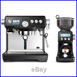 Breville BEP920BKS Espresso Coffee Machine Black Sesame with Smart Grinder