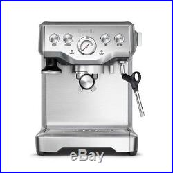 Breville BES840XL The Infuser Espresso Stainless Steel Coffee Machine NEW