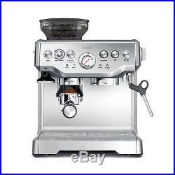 Breville BES870XL Barista Stainless Steel Espresso Coffee Machine with Grinder