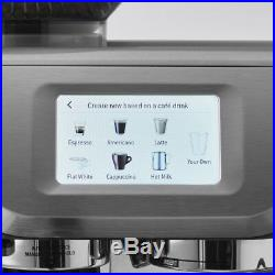Breville BES880BSS The Barista Touch Espresso Coffee Machine with Grinder