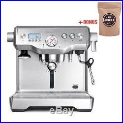 Breville BES920BSS Dual Boiler Espresso Machine RRP $1,699.95 + BONUS Coffee