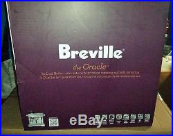 Breville BES980XL Oracle Espresso Machine Coffee Maker Silver Expresso New $2499