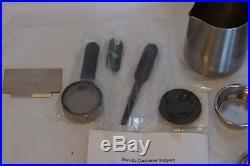 Breville Barista Espresso Machine BES870XL Coffee Maker Stainless Steel