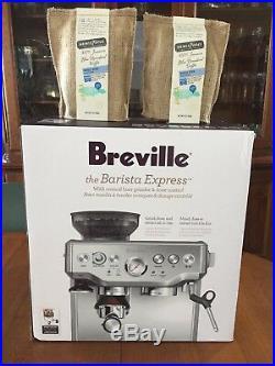 Breville Barista Express BES870XL Espresso Machine Stainless Steel +JBM Coffee