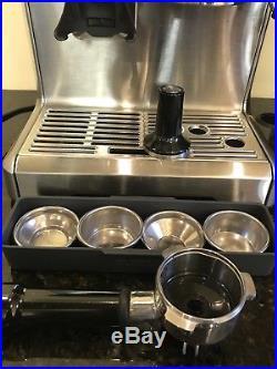 Breville Bes870xl Expresso Machine Grinder Coffee Express Maker Espresso Auto