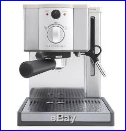 Breville Cafe Roma ESP8XL Infuser Espresso Stainless Steel Coffee Machine NEW