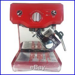 Breville The Duo Temp Pro Espresso/Coffee Machine Cranberry Barista/Cafe