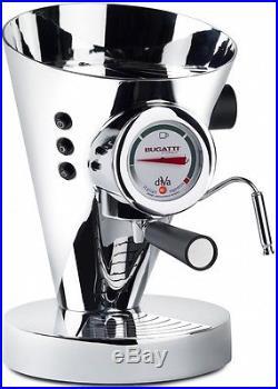 Bugatti Diva Espresso Coffee Machine Chrome 15-DIVACR/UK Free Shipping