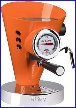 Bugatti Diva Espresso Coffee Machine Orange
