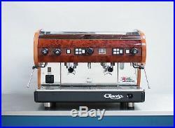 CMA Lisa 2 Group'Briarwood' Coffee Espresso Machine