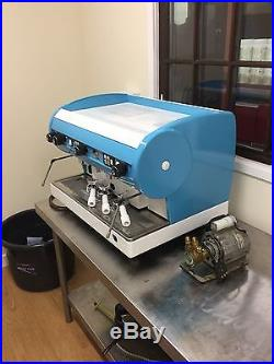 CMA Lisa 2 group espresso coffee machine fully legal with boiler certificate
