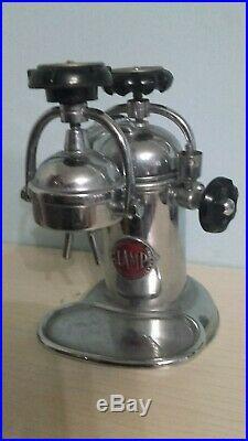 COFFEE MACHINE LAMP ETERNA PAVIA 1920 espresso machine no faema GAGGIA