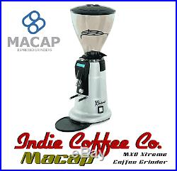 COMMERCIAL COFFEE GRINDER FOR CAFE ESPRESSO Macap MXD Xtreme On-Demand