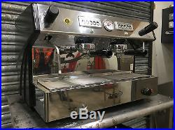 COMMERCIAL TRADITIONAL ESPRESSO COFFEE MACHINE EXCELLENT EXAMPLE BEST ON EBAY