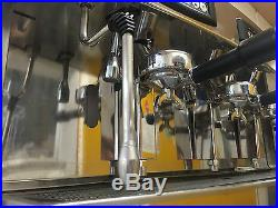 Commercial Traditional Espresso Coffee Machine Excellent Example Great Machine