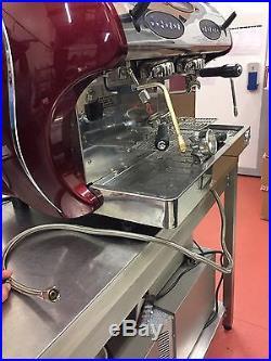 Carimali Kicco 2 Red Commercial Espresso/ Coffee Machine Job Lot