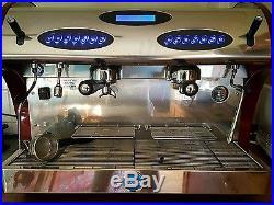 Carimali kicco double head espresso coffee machine