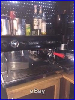 Coffee Machine Commercial Two Group Chrome Espresso Machine Excopar